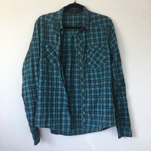 Plaid Boyfriend Shirt (Mens)